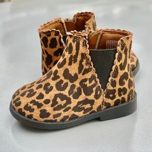 Garanimals Leopard Print infant Baby Winter Boot